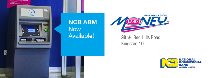 NCB ABM available - LASCO Money