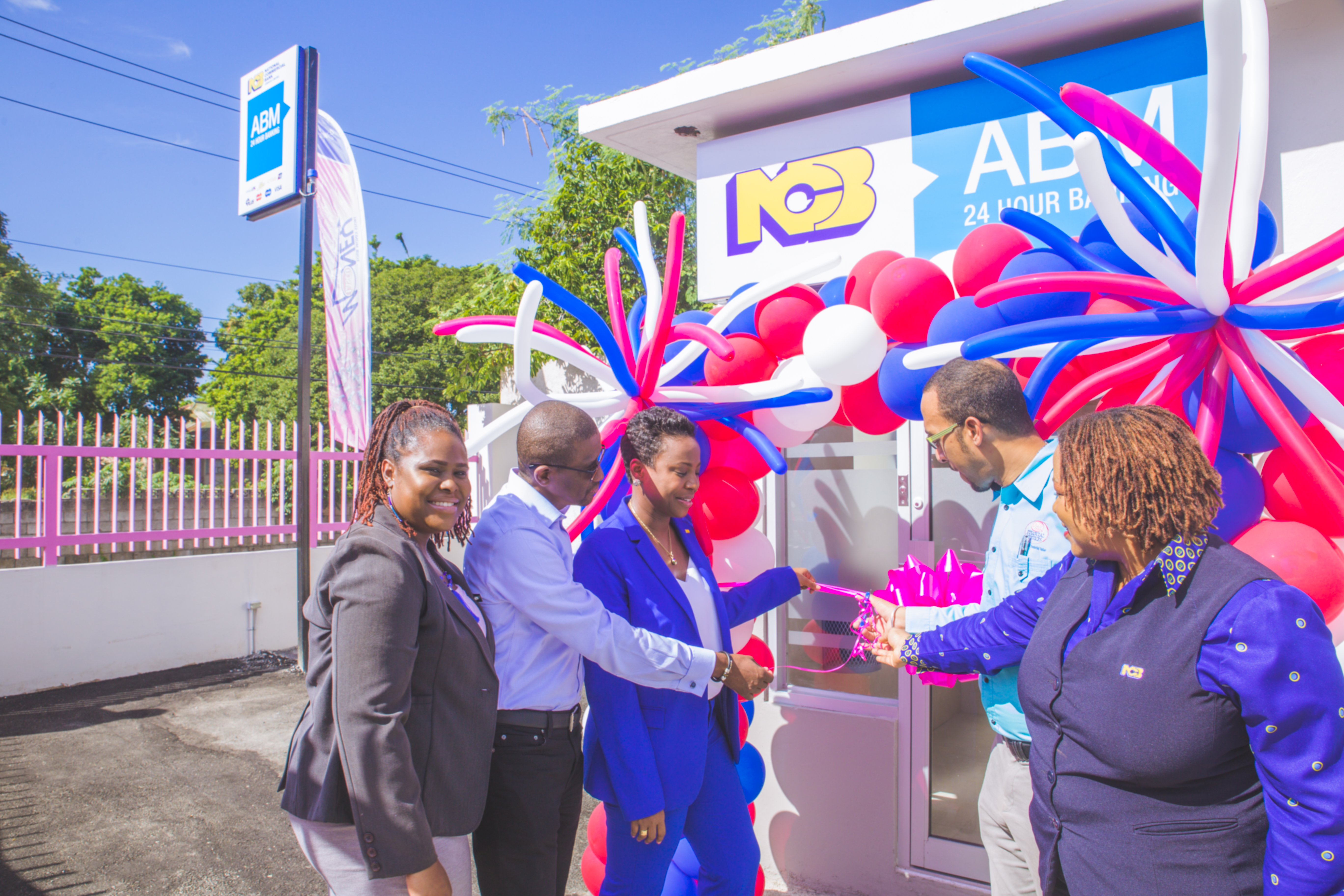 NCB ABM Opening at LASCO Money Store, Red Hills